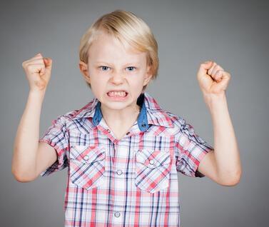 gérer la colère de l'enfant